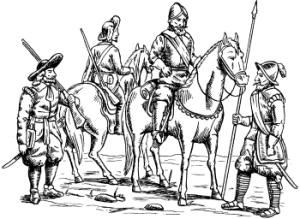 Все войны европы в 16-17 века